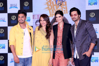 Sonakshi Sinha, Diana Penty and Ali Fazal grace the trailer launch of Happy Phirr Bhag Jayegi