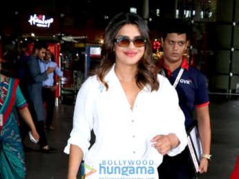 Sonal Chauhan, Badshah, Priyanka Chopra and others snapped at the airport