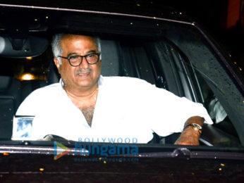 Special screening of Dhadak at Yashraj Studio