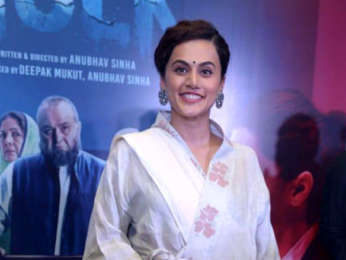 Taapsee Pannu and Rishi Kapoor attend Mulk press conference in Delhi