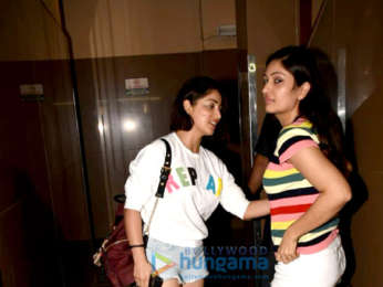 Yami Gautam with her sister spotted at PVR Juhu