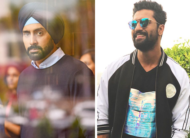 Abhishek Bachchan is all praise for his Manmarziyaan screen rival Vicky Kaushal