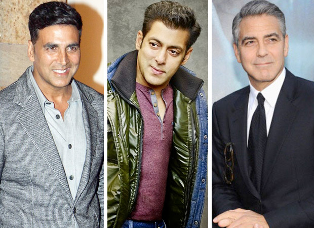 Akshay Kumar and Salman Khan join George Clooney amongst Forbes top 10 highest paid actors in the world