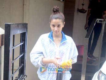 Alia Bhatt snapped at Matrix Films' office in Bandra