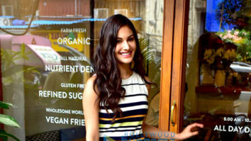 Amyra Dastur spotted at Sequel Cafe in Bandra