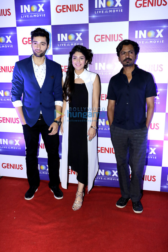 Anil Sharma, Utkarsh Sharma, Ishita Chauhan and Nawazuddin Siddiqui snapped at R City Mall during 'Genius' promotions (2)
