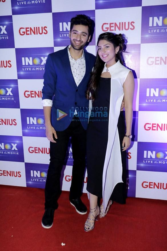 Anil Sharma, Utkarsh Sharma, Ishita Chauhan and Nawazuddin Siddiqui snapped at R City Mall during 'Genius' promotions (4)