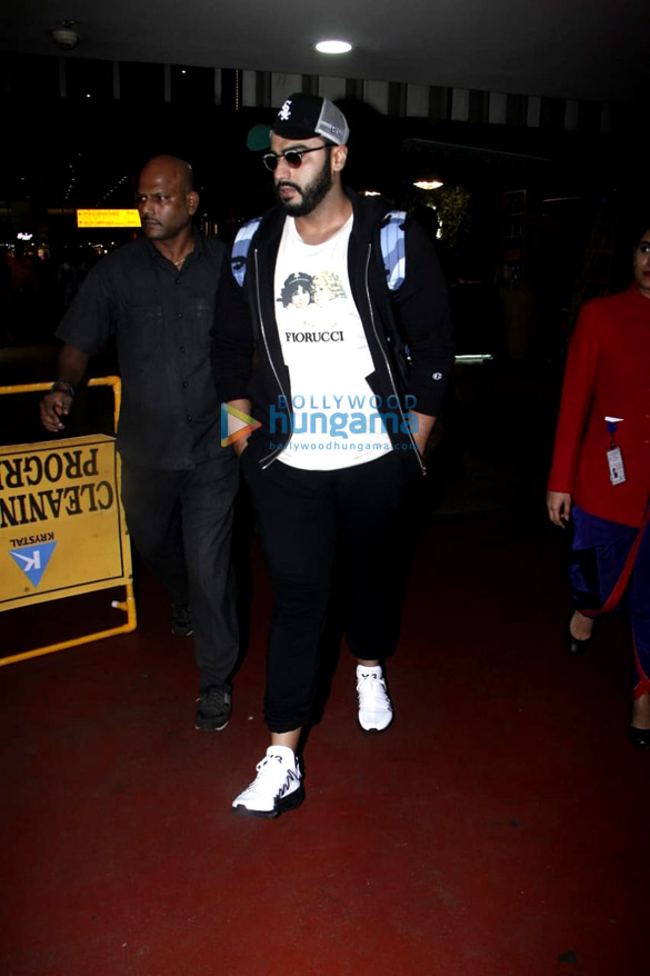 Arjun Kapoor and Alia Bhatt snapped at the airport