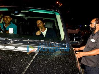 Arjun Rampal snapped at Bastian in Bandra