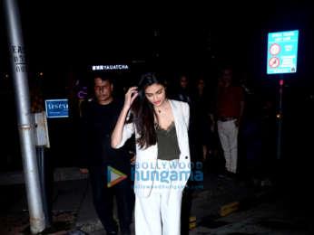 Athiya Shetty spotted at Yauatcha in BKC