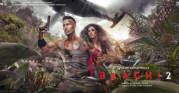 Baaghi 2: Tiger Shroff shares this UNSEEN poster of his action film with Disha Patani