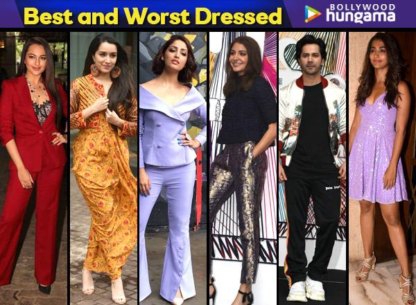 Bollywood Celeb Style :Best & Worst Dressed Celebrities ...