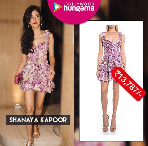 Celebrity Splurges - Shanaya Kapoor