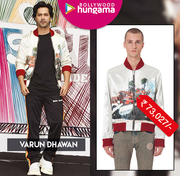 Celebrity Splurges - Varun Dhawan