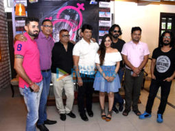 Celebs attend the press conference of the film Hill View Villa
