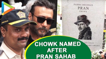 Check Out Actor Pran Sahab Gets a Chowk in Mumbai Named After Him Jackie Shroff