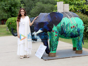 Dia Mirza graces for Elephant day in Delhi
