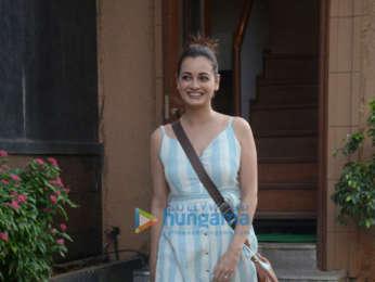 Dia Mirza snapped in Bandra