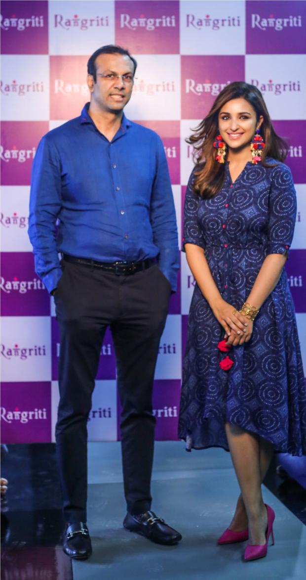 Rangriti signs Parineeti Chopra as its brand ambassador