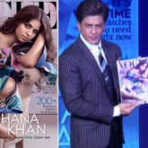 I hope it's not taken as 'entitled' just because she happens to be Shah Rukh Khan's daughter - says SRK on Suhana Khan's Vogue cover