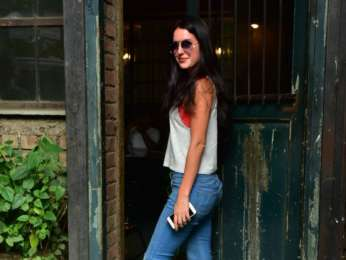 Isabelle Kaif spotted in Bandra