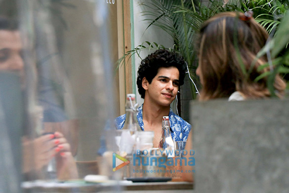 Ishaan Khatter spotted at the Kitchen Garden