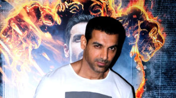 John Abraham snapped at 'Satyamev Jayate' interviews at Sun N Sand hotel in Juhu