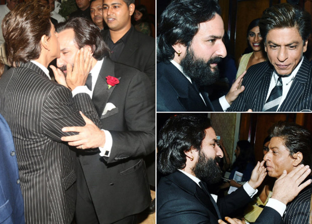 KANTABEN alert! Shah Rukh Khan and Saif Ali Khan's animated meet up reminds us of their iconic comedy scene from Kal Ho Naa Ho