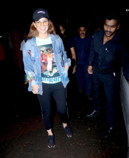 Kangana Ranaut spotted after shoot of 'Mental Hai Kya' in Bandra