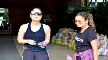 Kareena Kapoor Khan and Amrita Arora snapped at Otters Club in Bandra