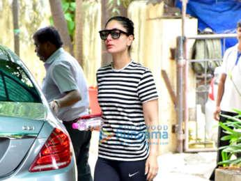 Kareena Kapoor Khan and Malaika Arora snapped outside the gym in Bandra