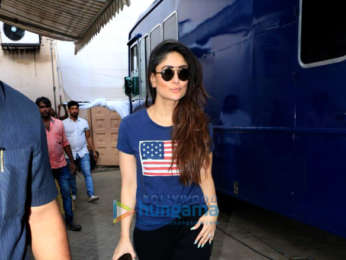 Kareena Kapoor Khan snapped at Mehboob Studio