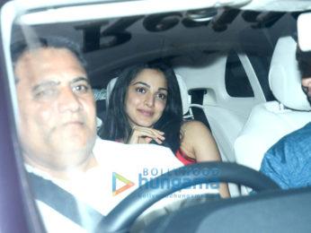 Kiara Advani, Neha Dhupia, Soha Ali Khan and others spotted at Karan Johar's house
