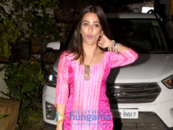 Kriti Kharbanda snapped post dubbing for Yamla Pagla Deewana Phir Se
