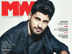 Sidharth Malhotra On The Cover Of MW