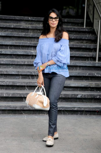 Mallika Sherawat spotted at Juhu