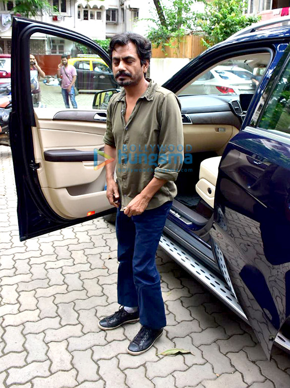 Nawazuddin Siddiqui snapped in Bandra for a shoot
