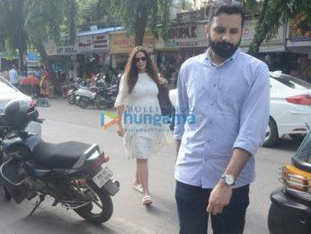 Neha Dhupia snapped at Khar