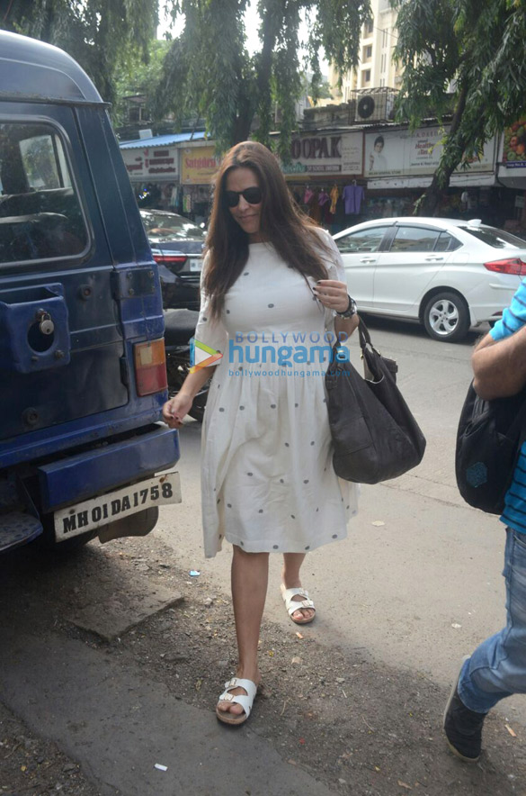 Neha Dhupia snapped at Khar