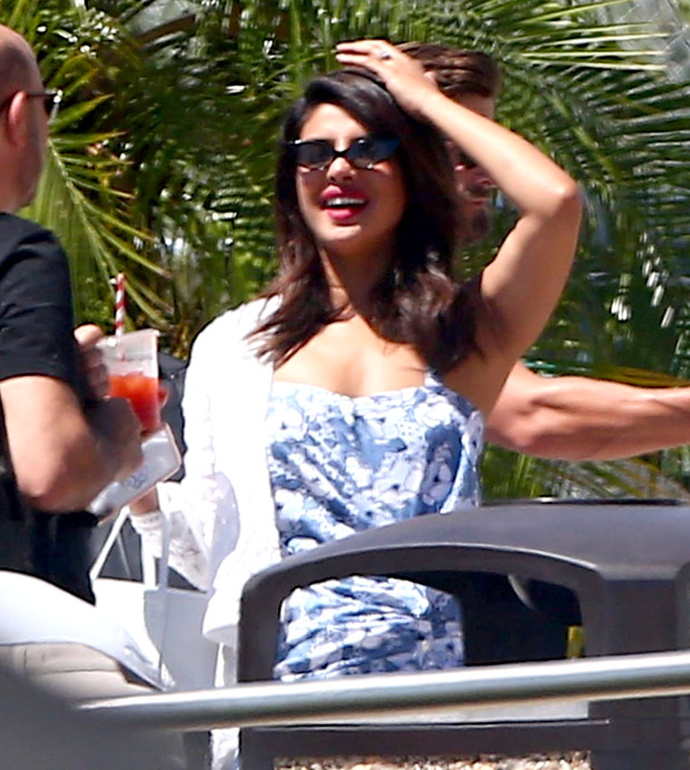 Newly engaged couple Priyanka Chopra and Nick Jonas holiday in Mexico