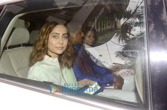 Parineeti Chopra, Arpita Khan and others snapped at Priyanka Chopra's house