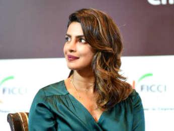 Priyanka Chopra snapped at the FICCI event