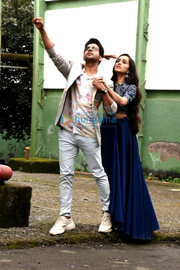 Rajkummar Rao and Shraddha Kapoor snapped promoting their film Stree