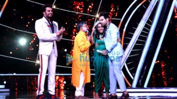 Rajkummar Rao snapped on sets of Indian Idol