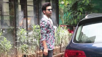 Rajkummar Rao spotted at Indigo in Lokhandwala