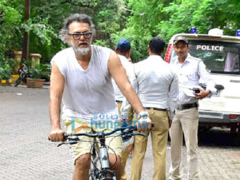 Rakeysh Omprakash Mehra snapped on his Cycle