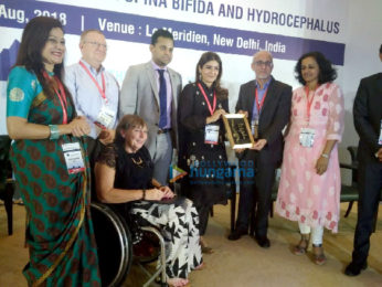Raveena Tandon graces the 28th International Convention on Spina Bifida and Hydrocephalus in Delhi