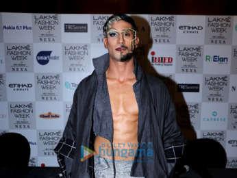 Celebs grace Urvashi Juneja's show at the Lakme Fashion Week