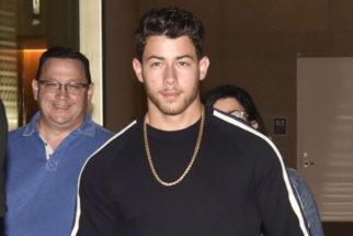 SPOTTED Nick Jonas with his family @Mumbai Airport