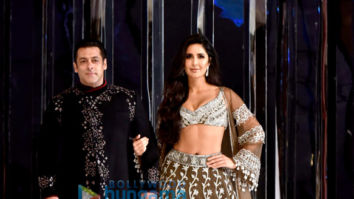 Salman Khan and Katrina Kaif walks the ramp for Manish Malhotra's fashion show